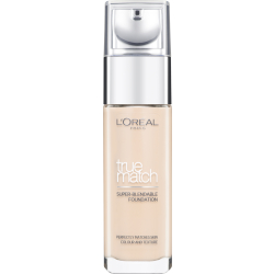 L'Oréal Paris True Match Liquid Foundation with SPF and Hyaluronic Acid 30ml (Various Shades) Ivory