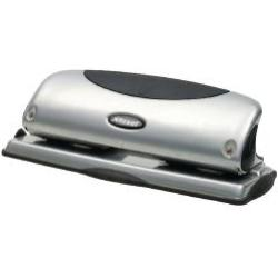 Rexel Precision P425 4 Hole Punch SilverBlack 2100753