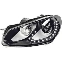 Headlight 1ZS009902 771 by Hella Left