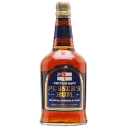 Pusser's Blue Label British Navy Rum Blended Modernist Rum
