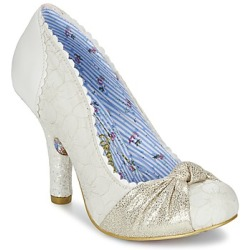 Irregular Choice SMARTIE PANTS women's Court Shoes in White