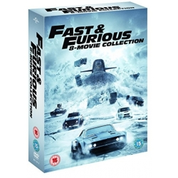 Fast Furious 8 Film Collection