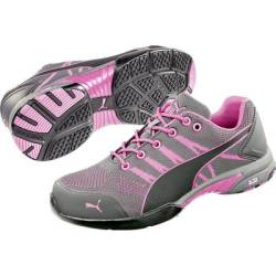 PUMA Safety Celerity Knit Pink 642910 37 Protective footwear S1 Size 37 Grey Pink 1 Pair