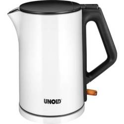 Unold Kettle cordless White (glossy) Black