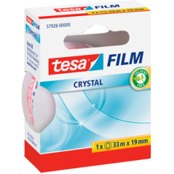 TESA film Crystal Tape 19mm x 33M 57928