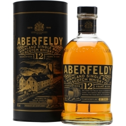 Aberfeldy 12 Year Old Highland Single Malt Scotch Whisky