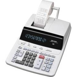Sharp CS 2635 RHGY Calculator with built in printer Grey Display (digits) 12 mains powered (W x H x D) 250 x 87 x 345 mm