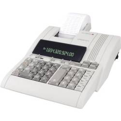 Olympia CPD 3212S Calculator with built in printer Beige Display (digits) 12 mains powered (W x H x D) 210 x 68 x 252 mm