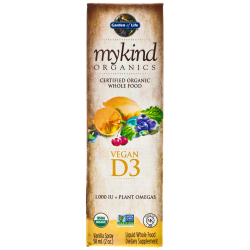 Garden of Life Mykind Organics Vegan D3 Vanilla Spray 58ml