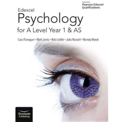 Edexcel Psychology for A Level Year 1 and AS Student Book Paperback softback 2018