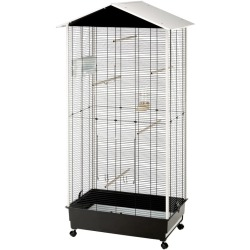Ferplast Bird Cage and Aviary with Roof Nota Plastic 56115423