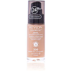 Revlon ColorStay Make Up Foundation for Combination Oily Skin (Various Shades) Natural Tan