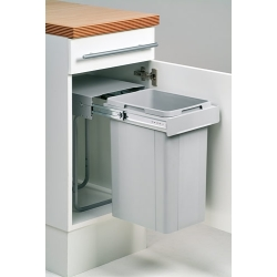 Wesco Bio Single 30DT built in waste bin 32 liters