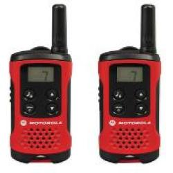 Motorola TLKR T40 Consumer Two Way Radio Pack of 2 MR61583