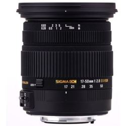 SIGMA 17 50 mm f 2.8 EX DC HSM Standard Zoom Lens for Canon