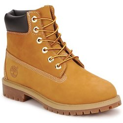 Timberland 6 IN PREMIUM WP BOOT boys's Children's Mid Boots in Brown