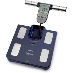 OMRON BF511 Blue Digital Scale