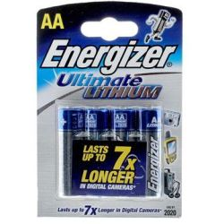 Energizer Ultimate Lithium AA 4 Pack