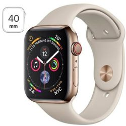 Apple Watch Series 4 LTE MTVN2FD A Stainless Steel Sport Band 40mm 16GB Gold