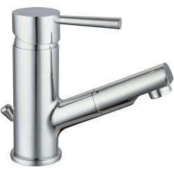 SCHÜTTE Basin Mixer with Pull Out Spray CORNWALL