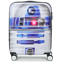 American Tourister STAR WARS R2D2 55CM 4R women's Hard Suitcase in White