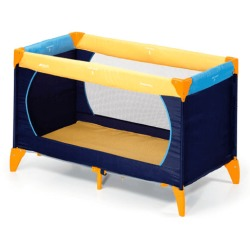 Hauck Dream 'n Play Travel Bed Yellow Blue
