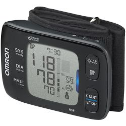 OMRON RS8 Smart Wrist Blood Pressure Monitor Black Black