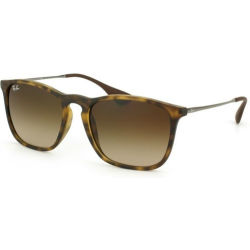 Ray Ban CHRIS Sunglasses RB4187 856 13 Size 54 Tortoise