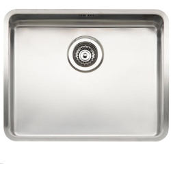 Reginox Kansas 50x40 Stainless Steel Sink Single Bowl with Waste Included