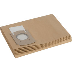 Bosch Paper Filter Bags for PAS12 50F Pack of 5