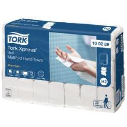 Tork Xpress Multifold Hand Towel H2 White 150 Sheets Pack of 21 100289