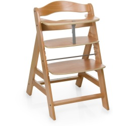 Hauck Alpha Wooden Highchair Natural