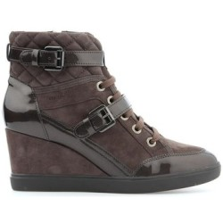 Geox D Eleni C D6467C 021HI C6004 women's Shoes (High top Trainers) in Brown