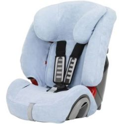 Britax Romer Summer Cover for EVOLVA 123 EVOLVA 123 PLUS and MULTI TECH II Blue Blue