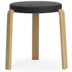 Normann Copenhagen Tap Stool Oak Black
