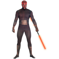 Morphsuit Adults' Deluxe Star Wars Darth Maul XL