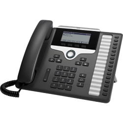Cisco 7861 IP phone Black Silver Wired handset LCD 16 lines