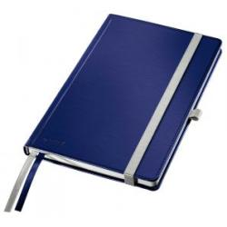 Leitz Dark Blue Style Notebook A5 ruled with hardcover Pack of 5x