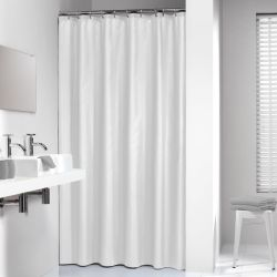 Sealskin Shower Curtain Madeira 180 cm White 238501310