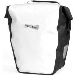 Ortlieb Back Roller City Pannier size 20 l white black grey