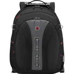 Wenger Laptop backpack Legacy Suitable for up to 39 6 cm (15 6) Black Grey