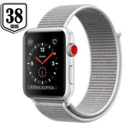 Apple Watch Series 3 LTE MQKJ2ZD A Aluminium Sport Loop 38mm 16GB Seashell Silver