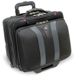 WENGER Granada 17 Laptop Case Black Grey Black