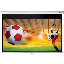 Optoma DS 9092PWC 92 Diagonal 16 9 Pull Down Projector Screen
