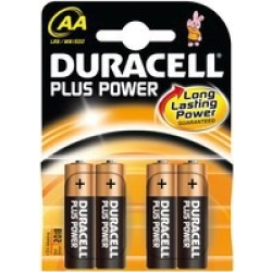 Duracell Plus Power AA Single use battery Alkaline