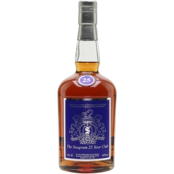 Seagram 25 Year Old Club Blended Scotch Whisky