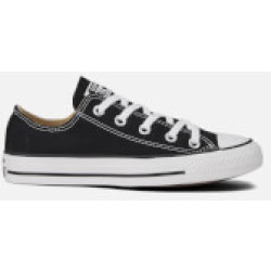 Converse Chuck Taylor All Star Ox Trainers Black UK 7