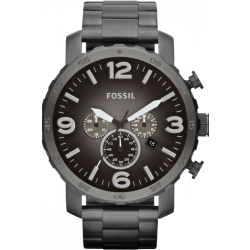 Mens Fossil Nate Chronograph Watch JR1437