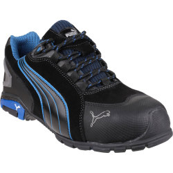 Puma Mens Safety Rio Low Safety Boots Black Size 6.5