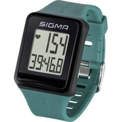 Sigma iD.GO Heart rate monitor watch with chest strap Pine green